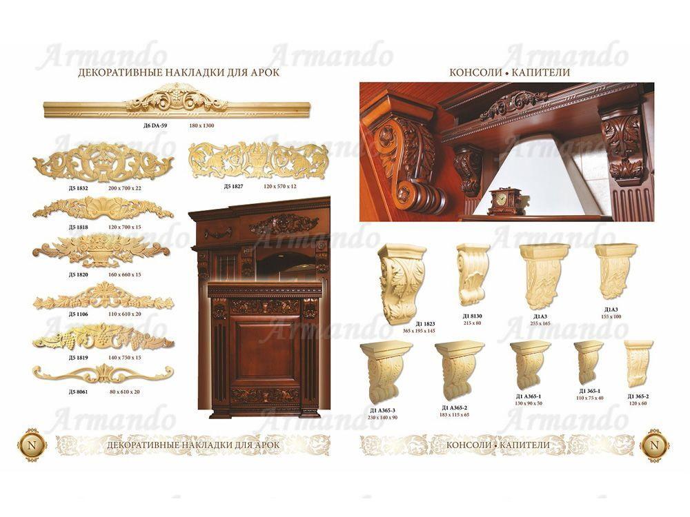 Декоративные накладки для мебели